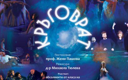 """Представлението """"Кръговрат"""" на Международния фестивал на студентския театър KESTENBURG, Баня Лука, Босна и Херцеговина, 16-20.11"""