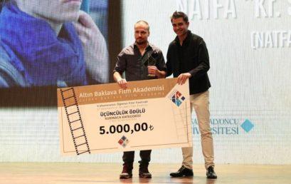 """Поредните две награди за филма """"МИГ ЛЮБОВ"""" на дипломанта Юлиан Рачев"""