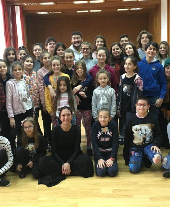 Майсторски клас по Пантомима на д-р Маргарита Божилова