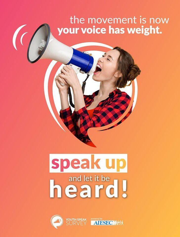YouthSpeak – анкета на международната младежка организация AIESEC